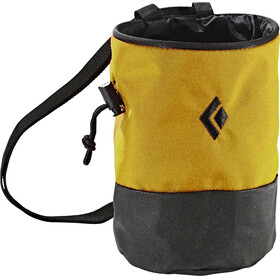 Black Diamond Mojo Chalk & Boulder Bags M-L yellow/black